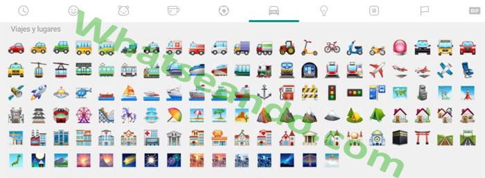 emojis-viajes