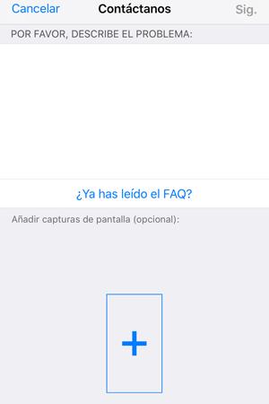contactar con whatsapp desde la aplicación con ios